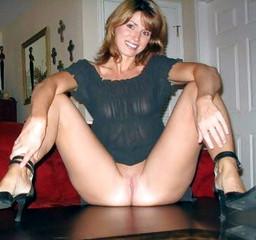 Nude women spreading their legs